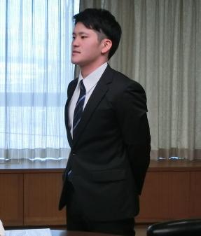 東選手の写真