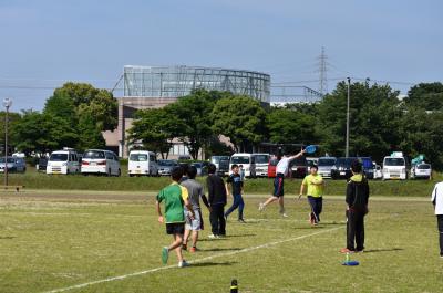 アルティメット競技の写真