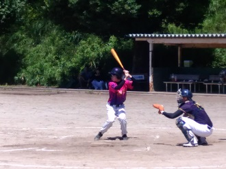試合風景の写真